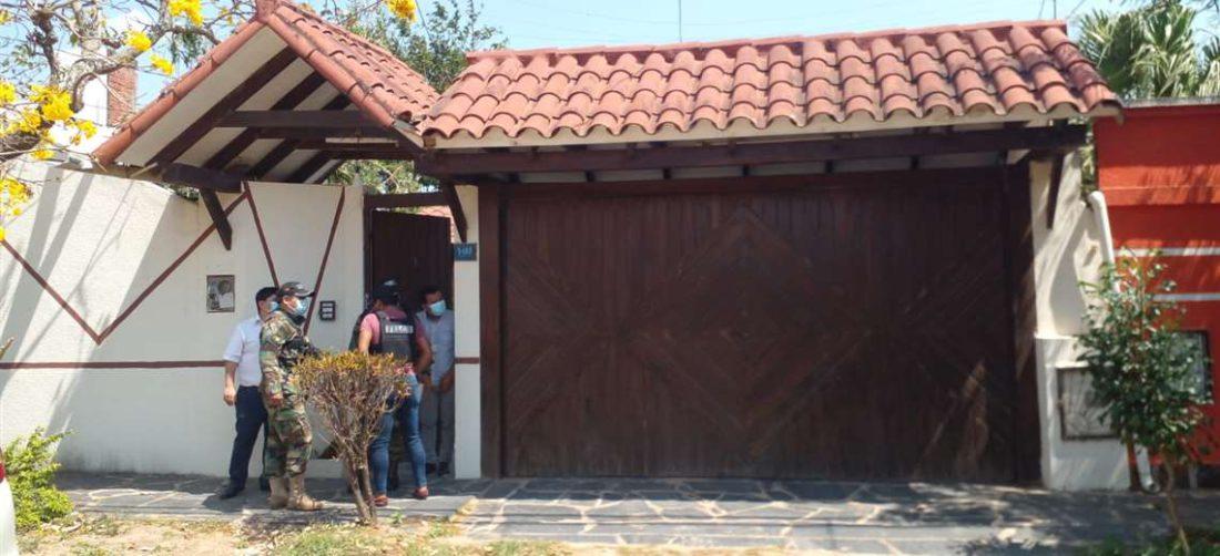 Felcn allanó una vivienda en Santa Cruz