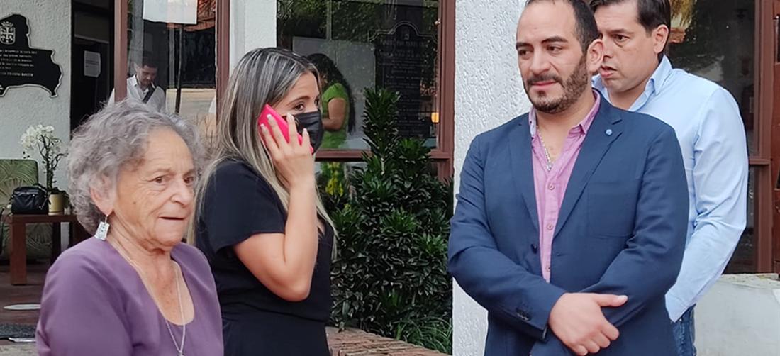 Amparo Carvajal y abogados de Jeanine Áñez defienden a la expresidenta