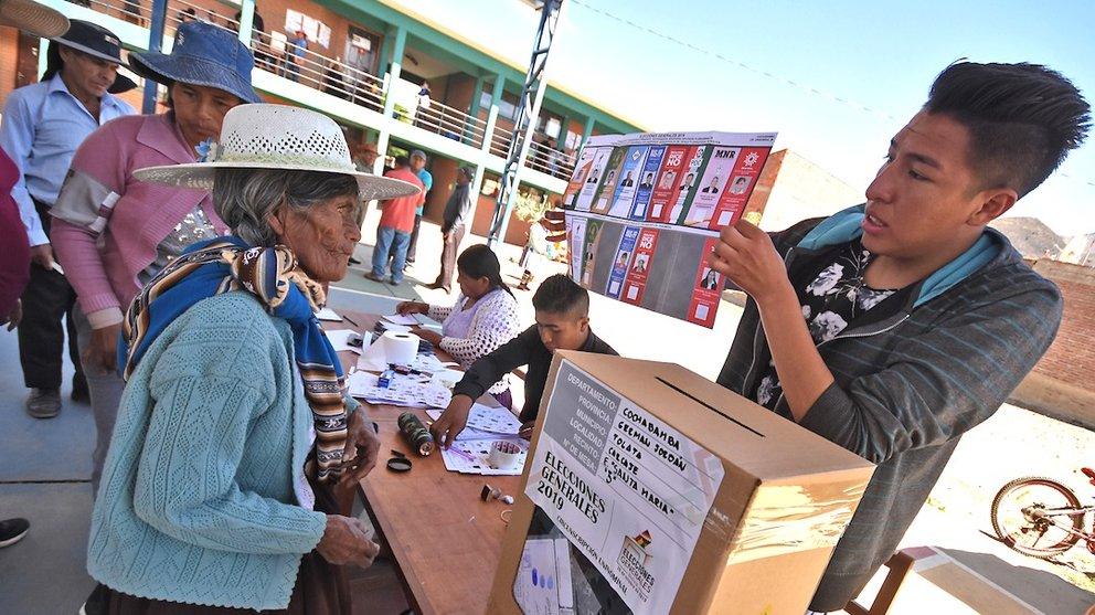 La votación en las elecciones del 20 de octubre de 2019. DICO SOLÍS