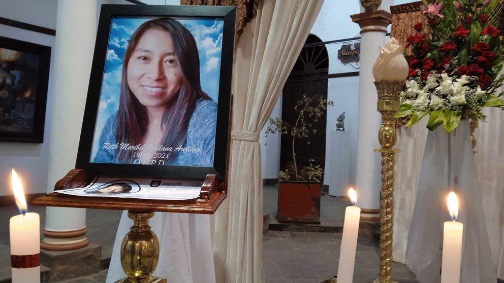 Alcaldía dispone predio para velar a Ruth Maribel Orellana. MARIELA COSSÍO