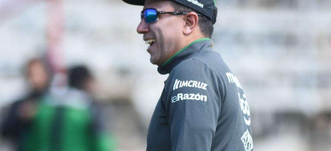 César Farías, entrenador de la selección nacional. Foto: FBF