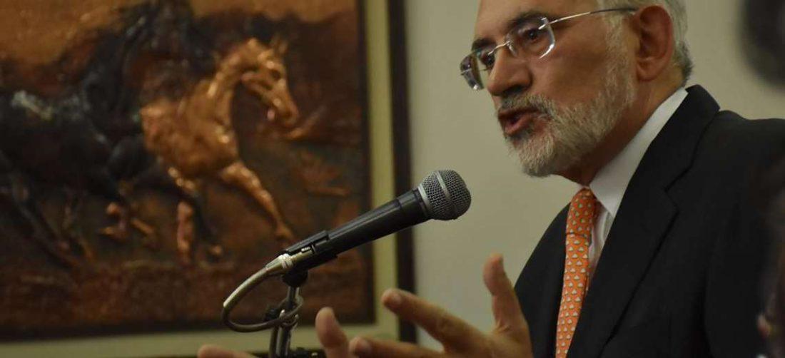 Carlos Mesa en conferencia de prensa I APG Noticias.