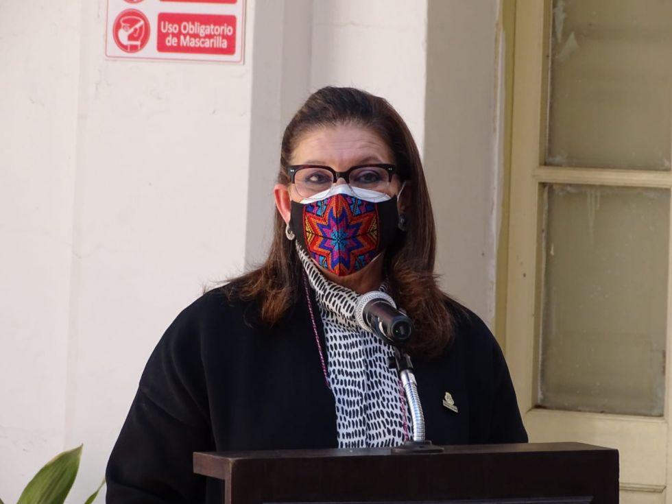 María Teresa Mercado, embajadora de México en Bolivia.