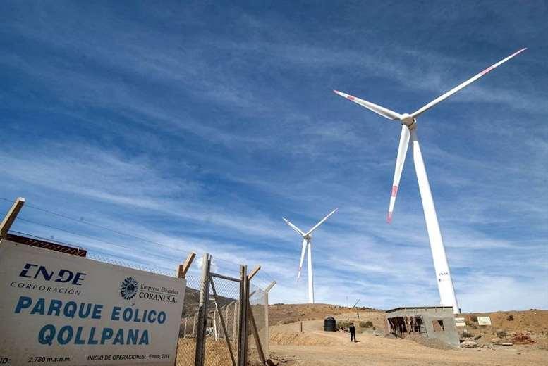 Bolivia implementó la energía eólica/ABI