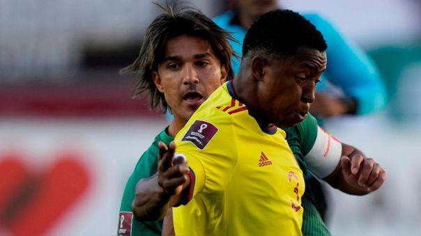 Bolivia empató 1-1 con Colombia por la fecha 9 de las Eliminatorias Qatar 2022