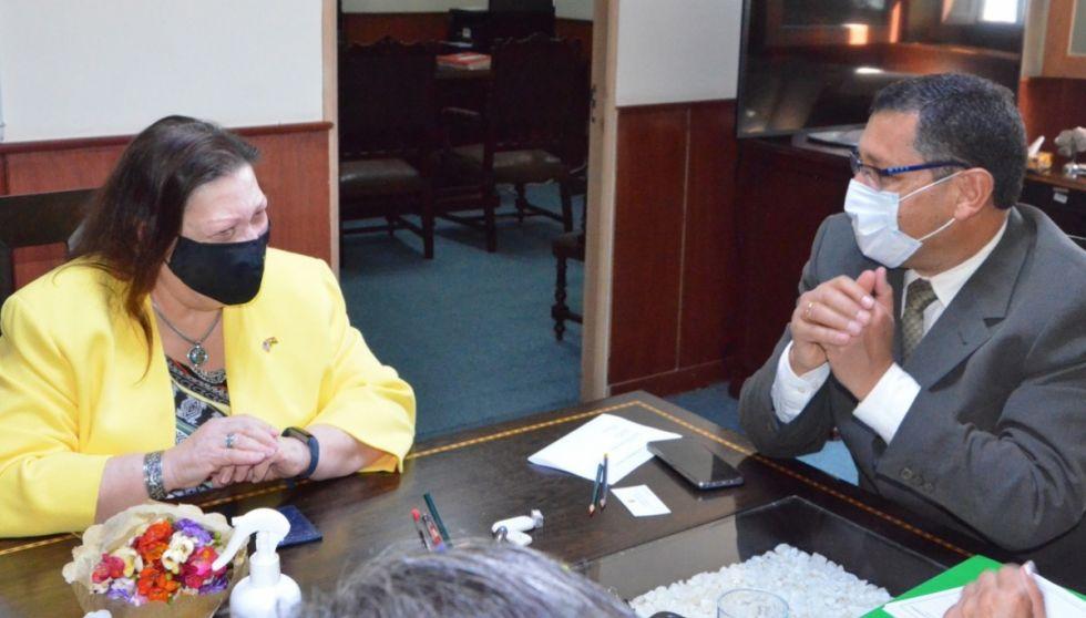 Tarija y Estados Unidos acercan posturas sobre Reserva de Sama