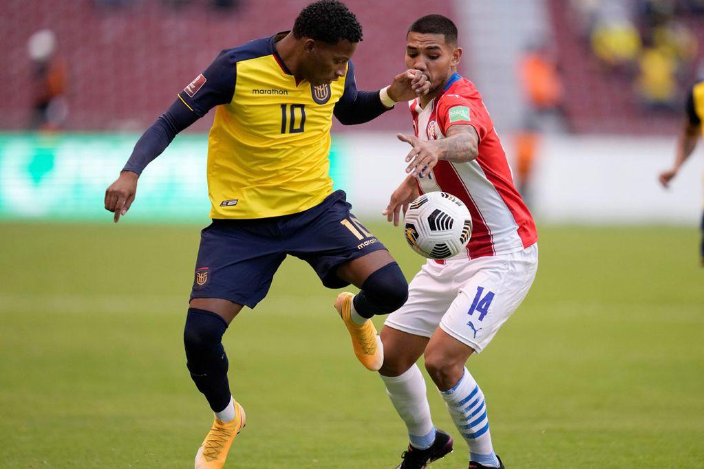 Ecuador le ganó 2-0 a Paraguay por las Eliminatorias Sudamericanas