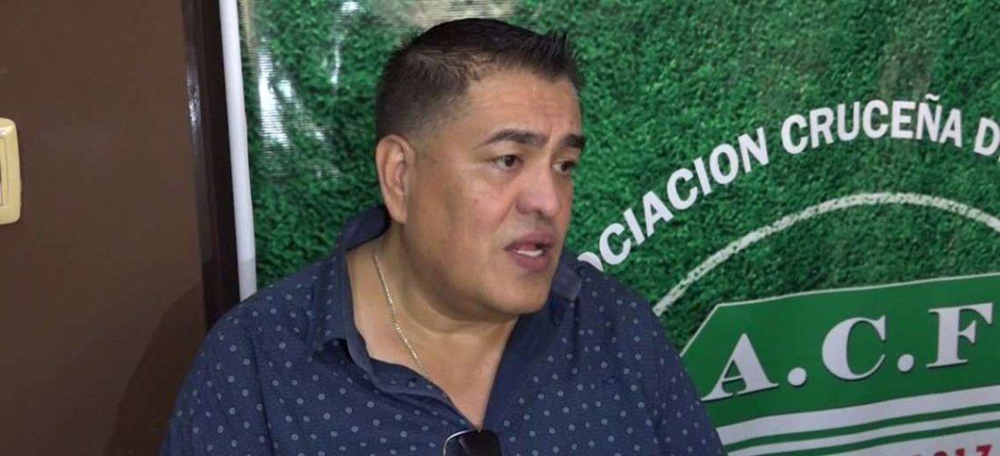 Pablo Salomón es uno de los suspendidos por la ACF. Foto: Internet