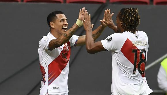Perú - Uruguay se enfrentan por la jornada 9 de las Eliminatorias Qatar 2022 en el Estadio Nacional de Lima (Foto: AFP).