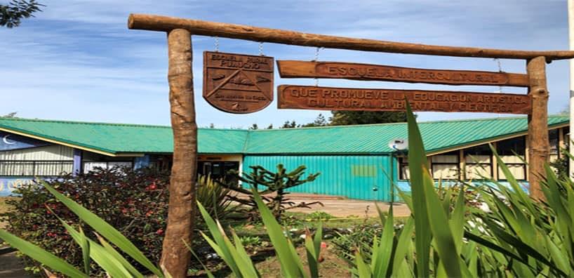 Escuela rural de Puauchuo, Región de Los Lagos - candidata a la implementación de bombas de calor geotérmica