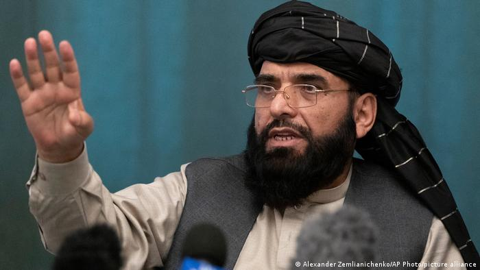 Afghanistan Taliban Suhail Shaheen, Sprecher der afghanischen Taliban