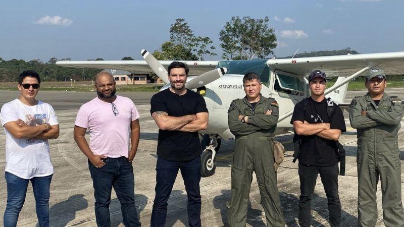 Diputada de CC denuncia que el actor que entrevistó a Evo usó 4 avionetas de la FAB