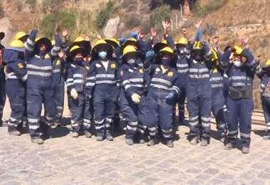 Mujeres dedicadas a la construcción en La Paz