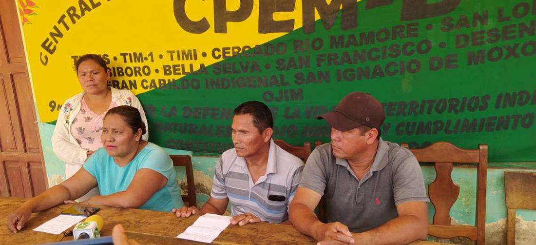 La conferencia de prensa de los indígenas I redes.