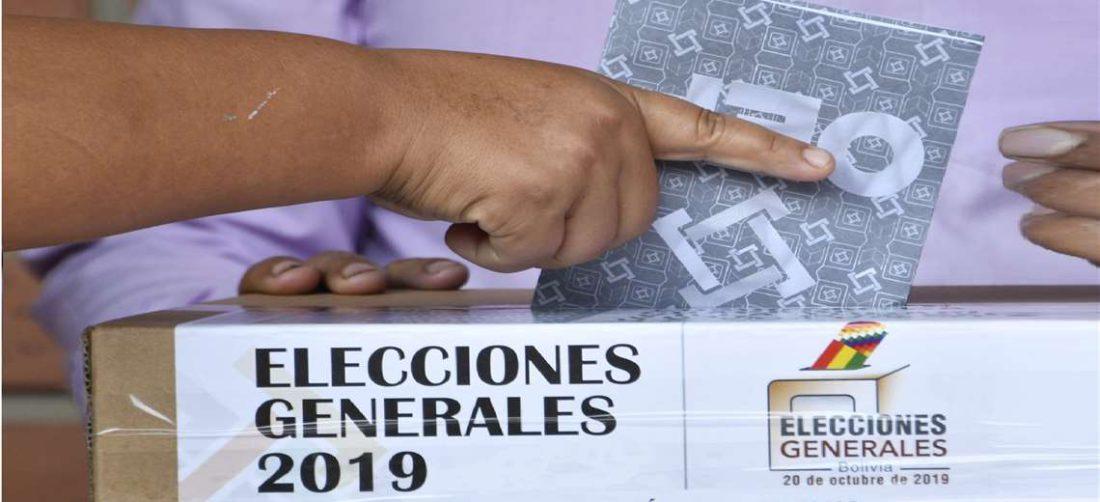 Las elecciones de 2019 fueron disueltas tras la auditoría de la OEA