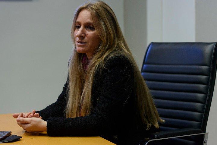 Florencia Carignano, directora nacional de Migraciones, habló sobre Brasil-Argentina. Foto Andres D'Elia