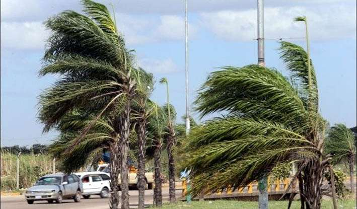 Clima caluroso con fuertes vientos para el fin de semana