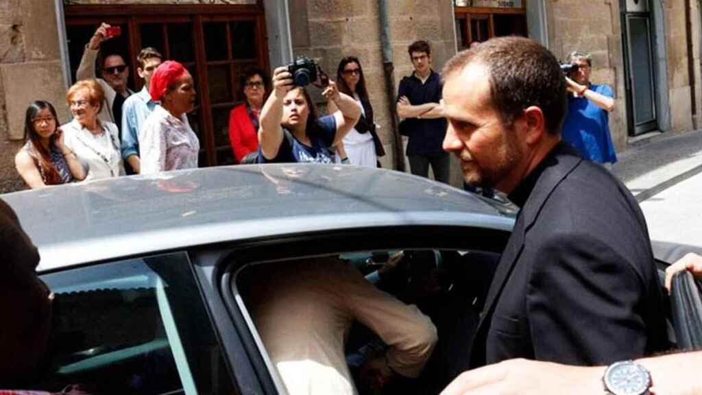 El hasta ahora obispo más joven de España, Xavier Novell.