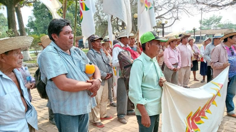 CC exige garantías para los indígenas que marchan rumbo a Santa Cruz