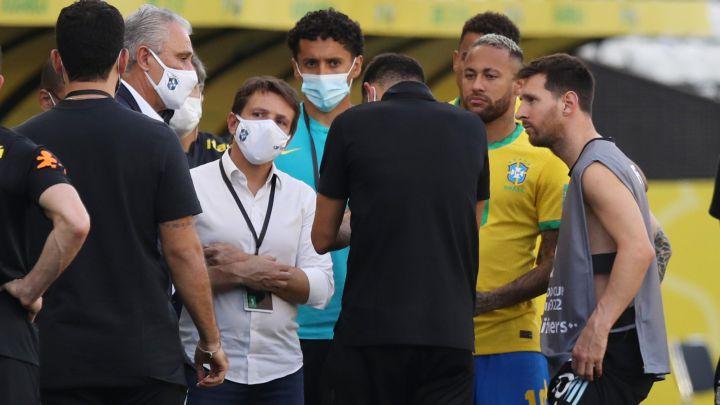 Brasil - Argentina suspendido, en vivo: polémica, posibles sanciones y noticias, en directo   Última hora - AS Argentina