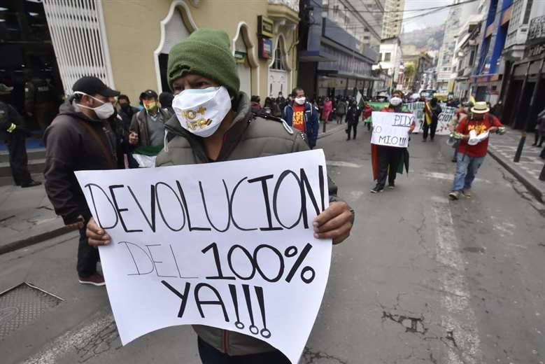 Anuncia movilizaciones desde este martes (imagen referencial/internet)
