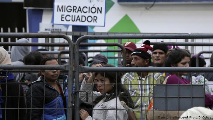 Ecuador Venezuela Migranten