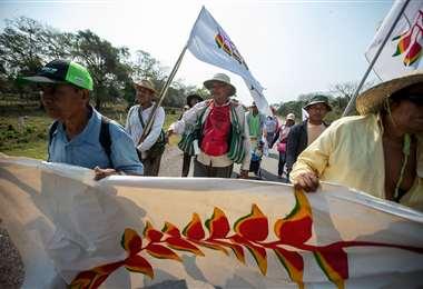 Marcha Indígena - Foto: Gobernación de Santa Cruz