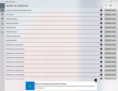 Battery Notificacion Windows 2