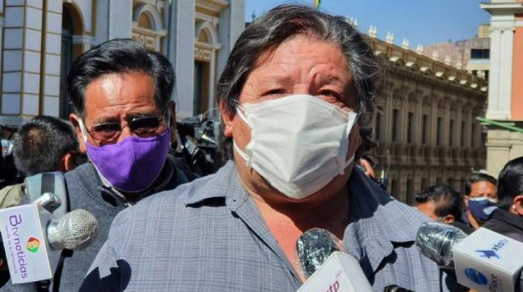 Conade critica inacción del Gobierno y denuncia que Wila Lluch'us es grupo paramilitar del MAS   ANF - Agencia de Noticias Fides