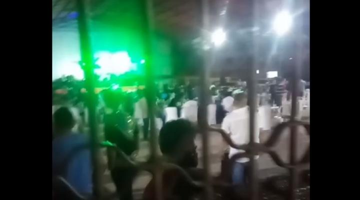 """Video: """"Los masistas podemos festejar donde nos de la gana, c..."""", la fiesta del MAS que indignó en Santa Cruz"""