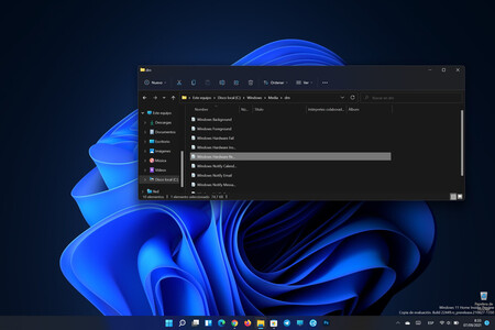 Carpeta Con Los Sonidos Oscuros Windows 11