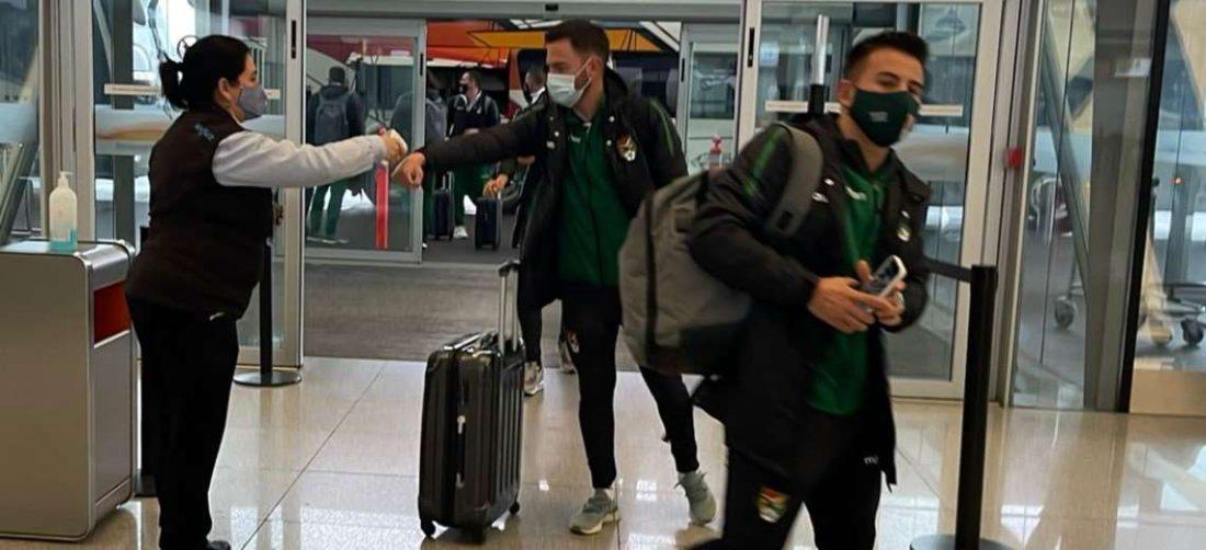 Bolivia llegó a Buenos Aires la tarde del martes. Foto: FBF