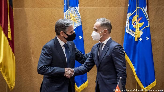 Deutschland   Treffen US-Außenminister Antony Blinken mit Heiko Maas