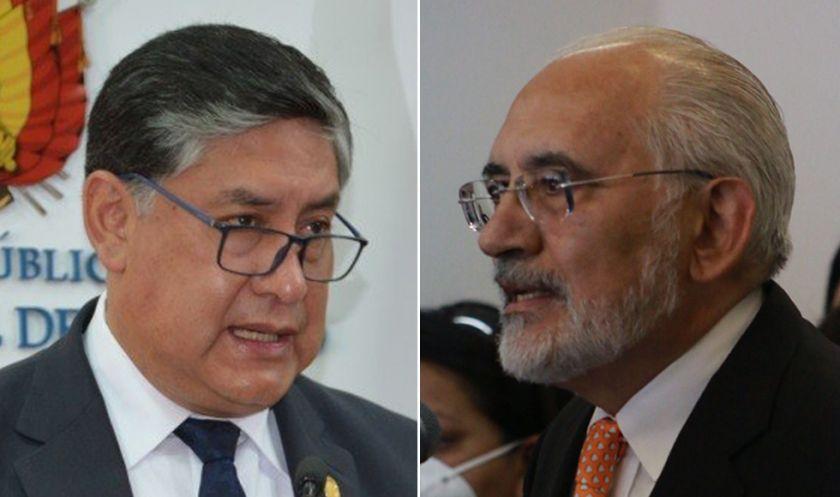 Lanchipa afirma que Mesa no puede ser indultado y espera decisión de ALP sobre juicio