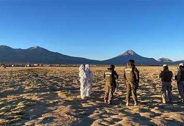 Frontera entre Bolivia y Chile. AFP