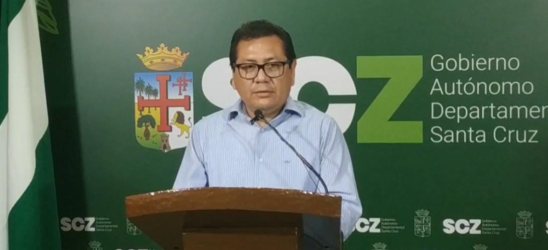 Orlando Saucedo, secretario de Hacienda, informó sobre la destinación del presupuesto.