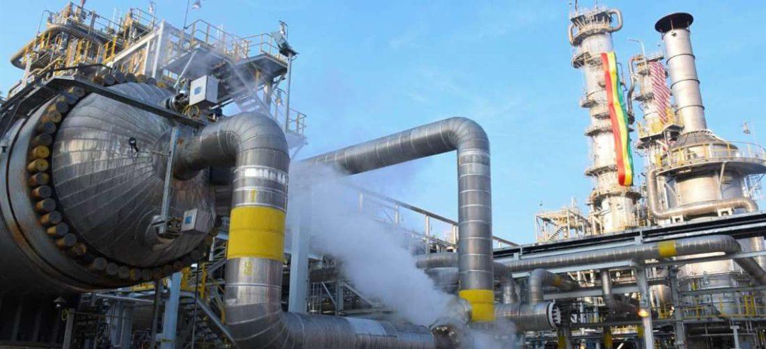 La fuga se presenta en el reactor de síntesis de amoniaco del complejo petroquímico
