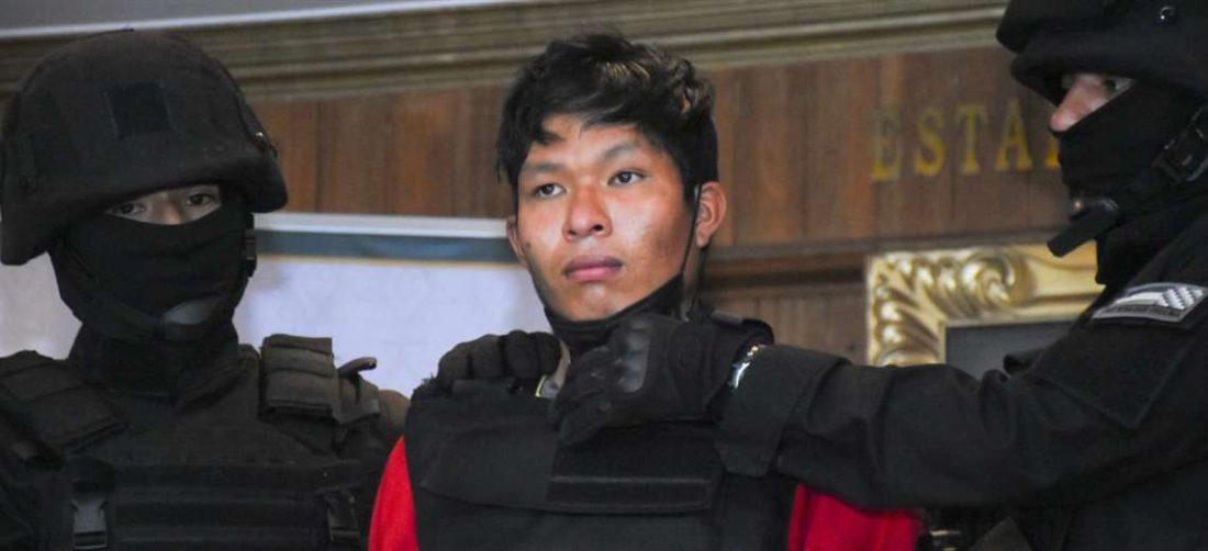 El acusado de la muerte de Mayerlin (foto: APGNoticias)