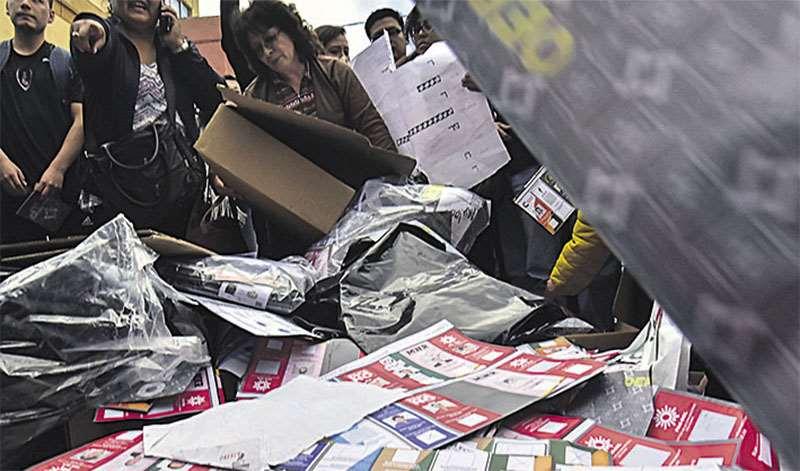 La OEA detectó fraude electoral