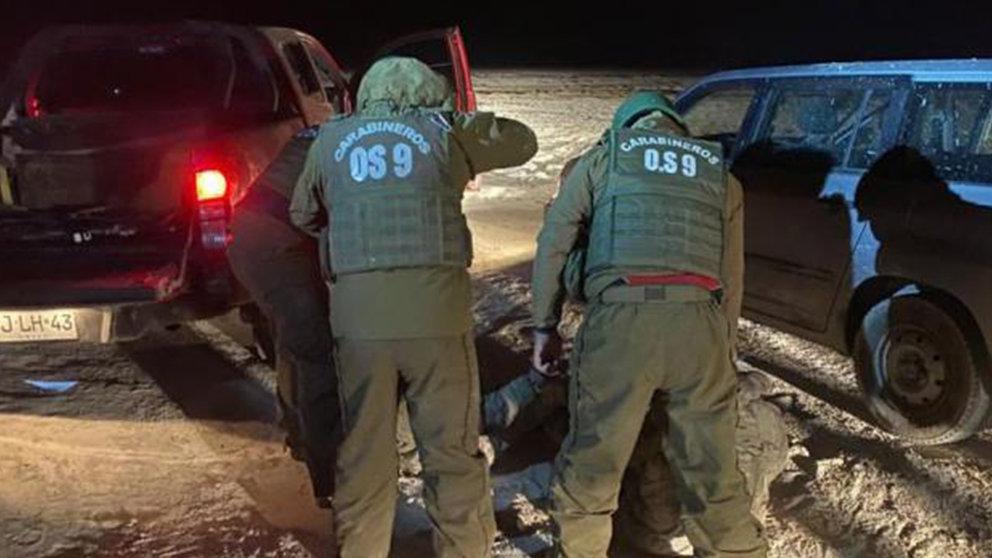 Miilitares chilenos detienen a connacionales bolivianos. TOMADA DE OXÍGENO