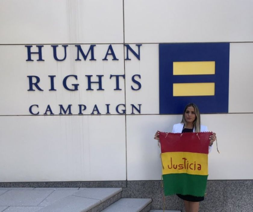 """Carolina Ribera expone """"la dramática situación"""" de su madre Jeanine ante el HRW"""