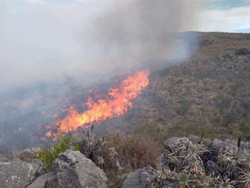 Helicóptero Súper Puma llega este jueves a El Palmar para sofocar incendio