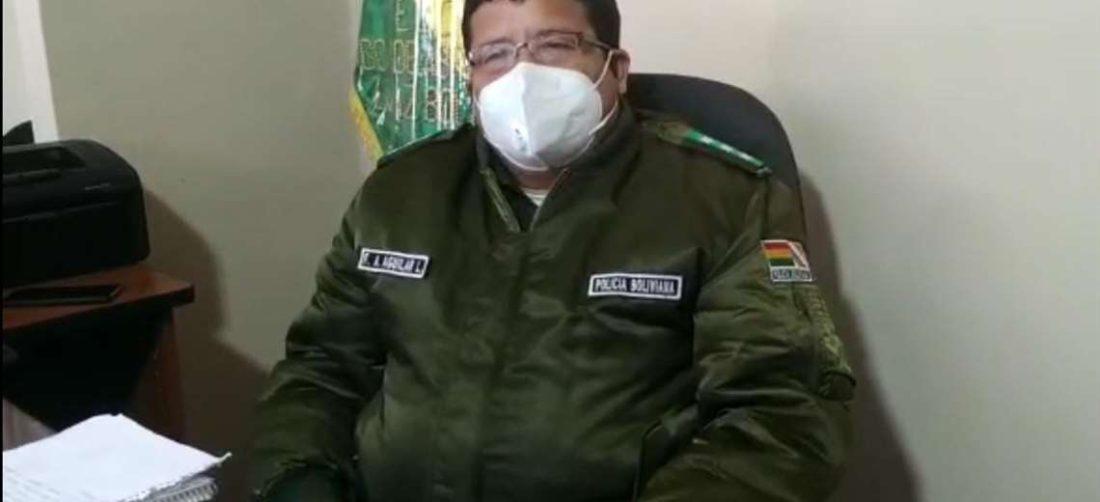 El jefe nacional de la Felcc