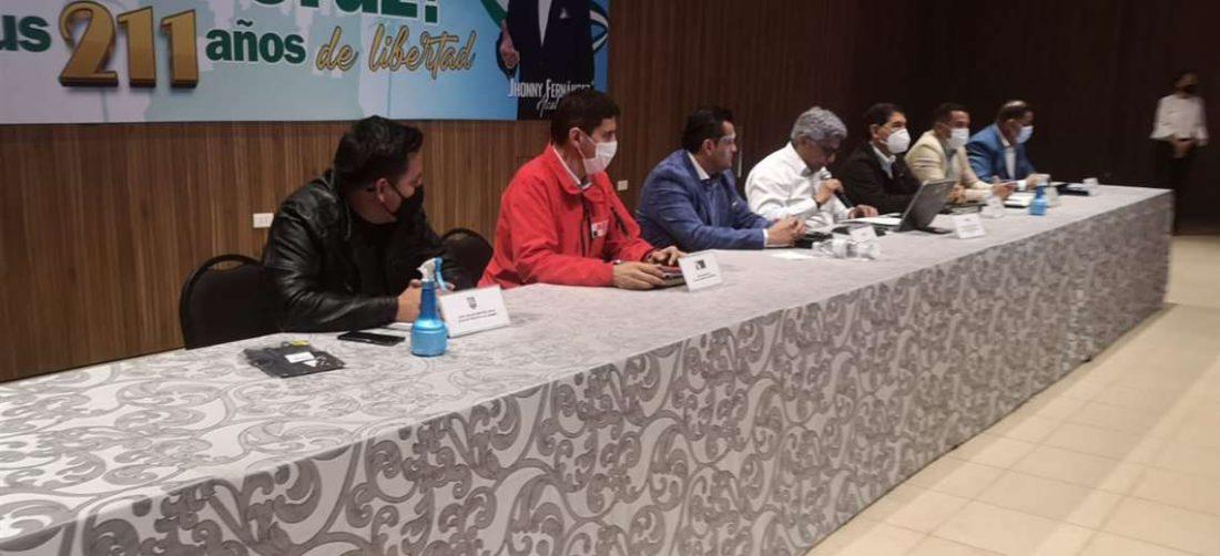 Este jueves se realizó la reunión de los alcaldes del área metropolitana de Santa Cruz