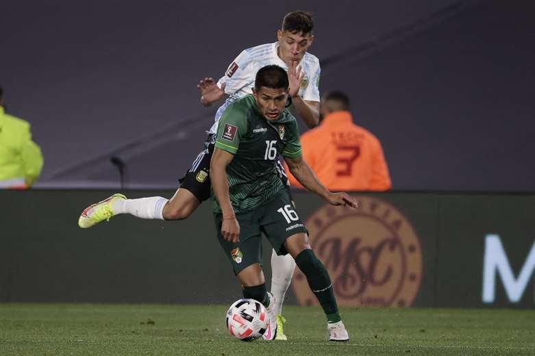 Bolivia perdió con Argentina por 3-0