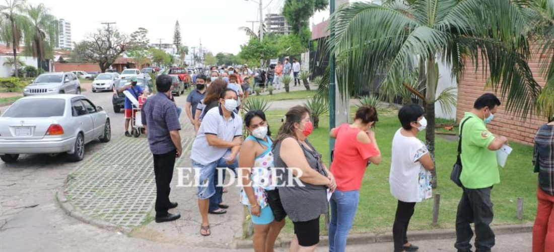 Según el Sedes, tres son los municipios con mayor riesgo de rebrote/Foto EL DEBER