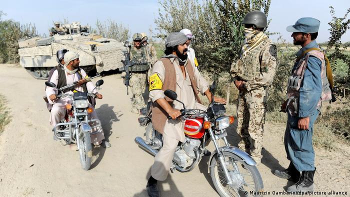 Control policial en Kundus, Afganistán. Aquí el 29 de octubre de 2021