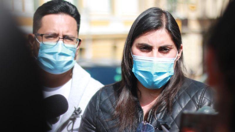 Revuelo entre los opositores porque Andrea Barrientos expresó simpatía por Iván Lima (VIDEO)