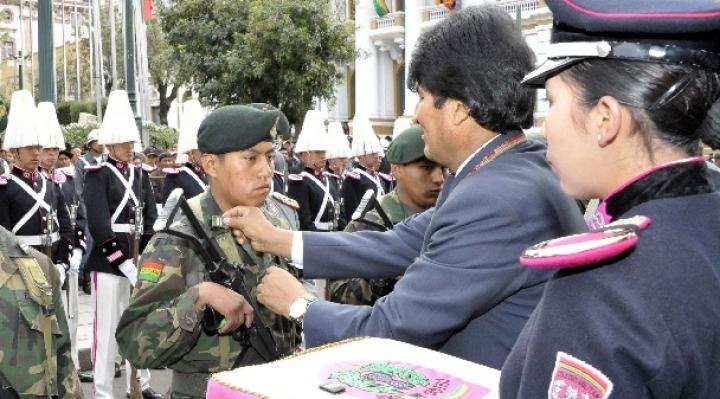 Morales pide respecto a los derechos humanos y debido proceso para militares detenidos