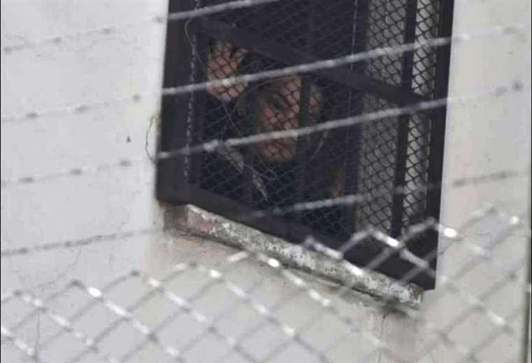 Jeanine Añez en la cárcel de mujeres de La Paz